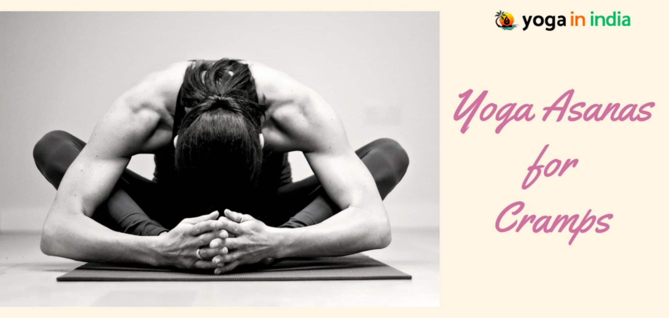 Yoga asanas for cramps