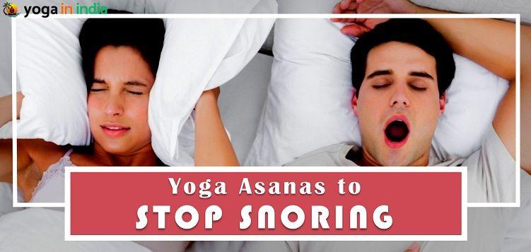 Yoga asanas to stop snoring