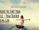 15 Reasons to start Yoga Practice