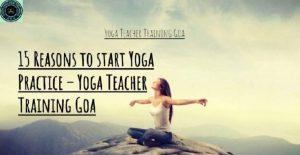15 Reasons to start Yoga Practice